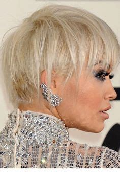 rita oras new short haircut from the 2015 grammy awards lipstick 1000 images about hair cuts on pinterest bobs medium