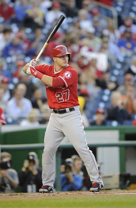 mike trouts swing mike trout s gone fishing the cauldron