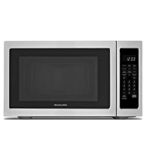 Kitchen Aid Microwaves by Kitchenaid 174 1200 Watt Countertop Convection Microwave Oven