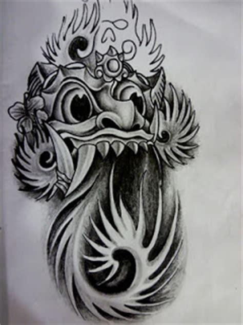tato punggung bali 12 motif tato bali keren bagus terbaru tato tribal 3d