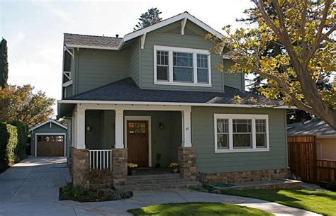 exterior paint colors craftsman style homes decor references