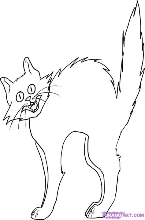 printable coloring pages gt halloween black cat gt 44493 halloween black cat coloring pages 12