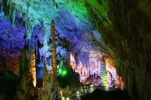 The Lotus Caves Chongqing Wulong Karst Landscape Pictures Chongqing