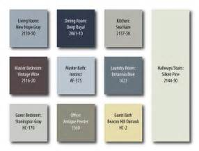 benjamin color palettes benjamin color palette for home painting ideas