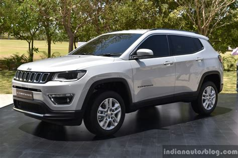 jeep india compass india made jeep compass front three quarter unveiled