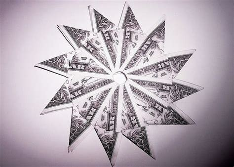 Origami Dollar Sign - dollar sun another day another dollar fold dollar bill