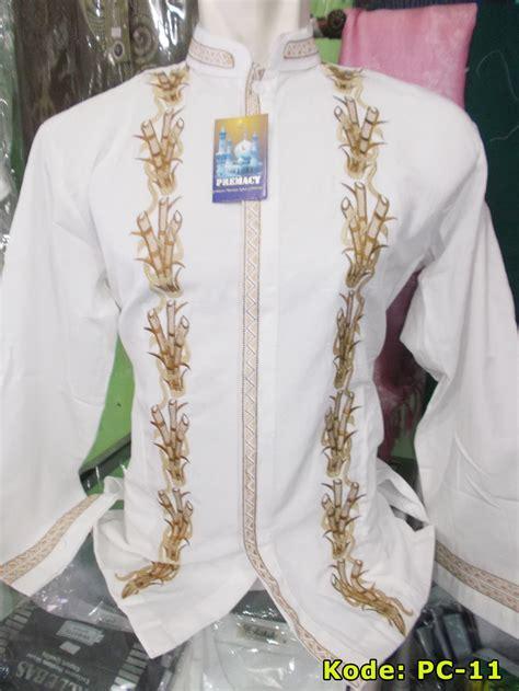 Baju Koko Putih Revkaz baju koko premacy putih busana muslim pria toko