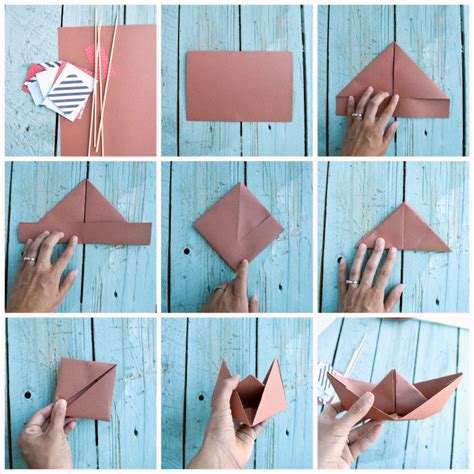 How Do I Make A Paper Boat -
