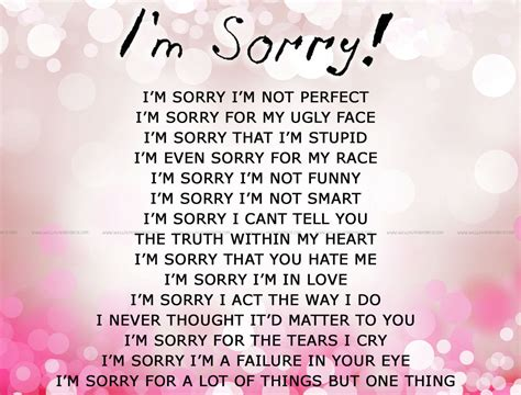 Apology Letter To Boyfriend For Being Jealous Im Sorry Pictures Photos And Images For And