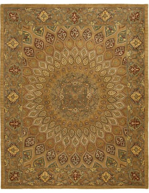 brown and gray area rug heritage brown gray area rug hg914a traditional area rugs by zopalo