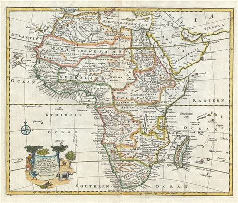 africa map 1747 a new and accurate map of africa geographicus