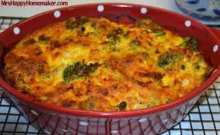 my favorite broccoli cheese casserole mrs happy homemaker