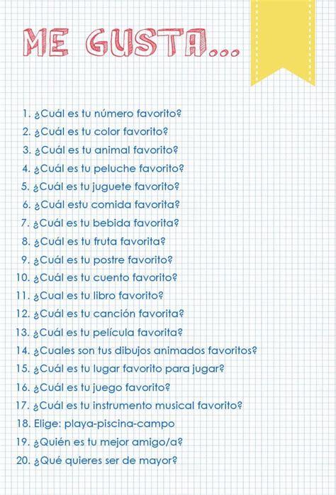 preguntas capciosas instagram cosas favoritas 20 preguntas 20 respuestas la gallina