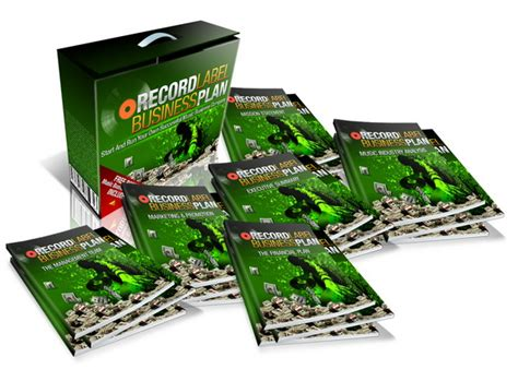 record label business plan template free affiliate program for business plan
