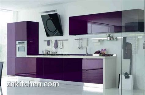 acrylic kitchen cabinets modern purple color design acrylic kitchen cabinets