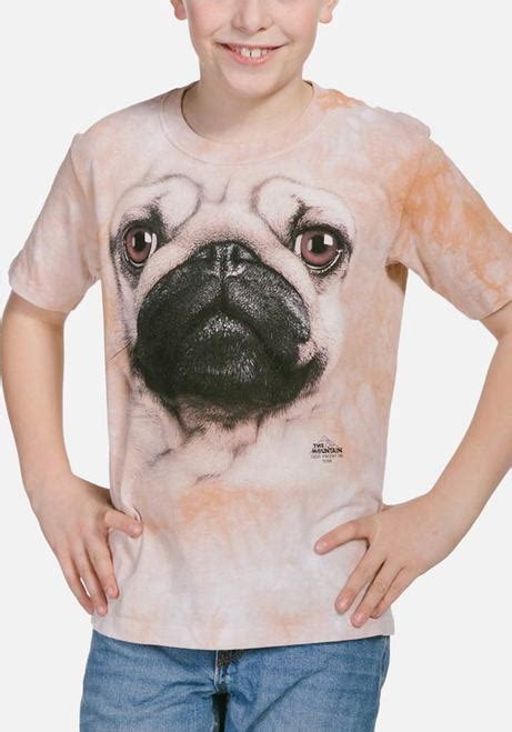 toddler pug shirt kid s pug t shirt t shirts the mountain 174 uk