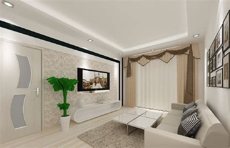 simple living room ceiling lighting 3d house