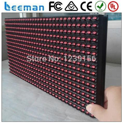 Sale Modul Led Display P10 32 X 16 Pixel Merah Indoor leeman p10 1r led module 16 32 2015 outdoor p10 green single color led display module yellow