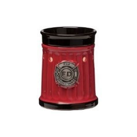 firefighter size warmer made by scentsy