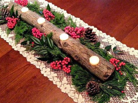 fresh eggs daily 174 diy yule log candle holder christmas