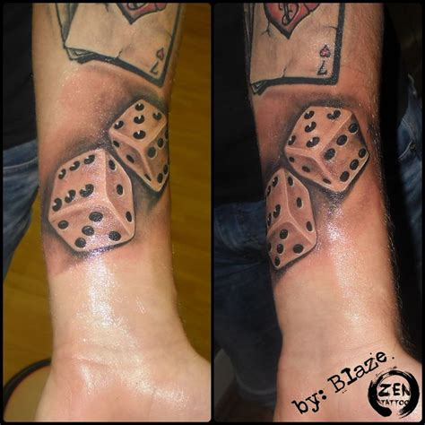 lucky dice tattoo 27 best dice designs images on dice
