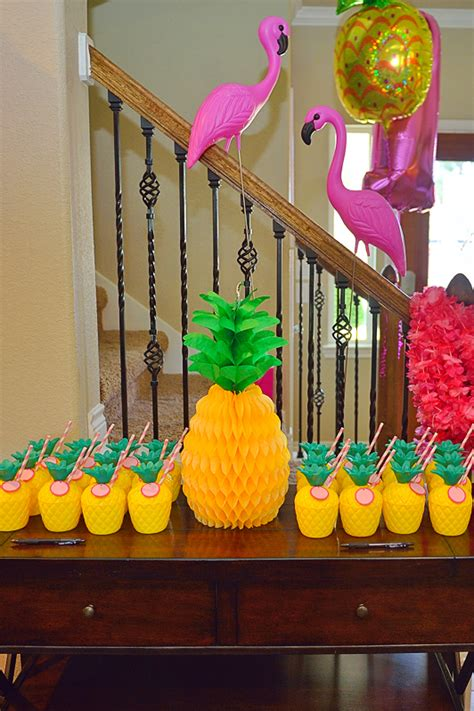 pineapple party  lucys st birthday project nursery