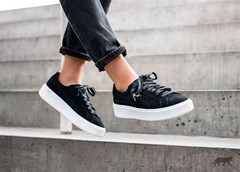 Adidas Flatform Suede 3 suede platform black black white