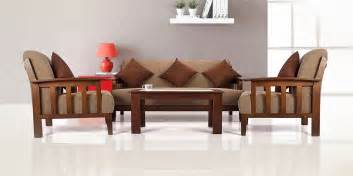Wooden Sofa Living Room by Wooden Sofa Design For Living Room New 2018 Sofamoeinfo