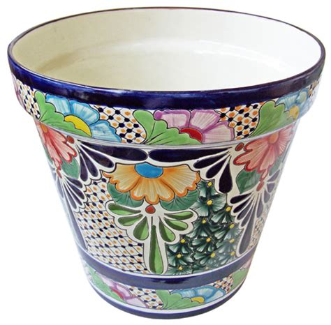 Mexican Planter by Wide Selection Of Talavera Pottery Direct From Mexico
