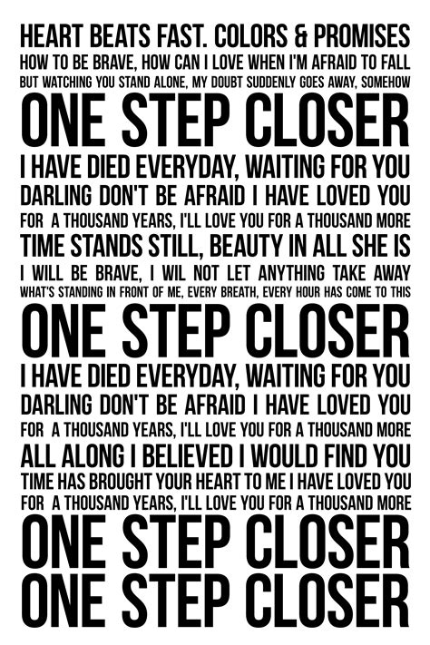 best part of breaking up lyrics what i ll be walking down the isle to a thousand years