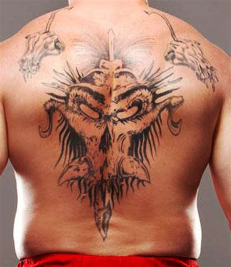 brock lesnar s tattoo brock lesnar wrestler profile character