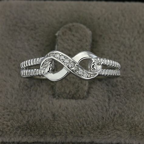 jewelry infinity ring sterling silver 925 infinity ring