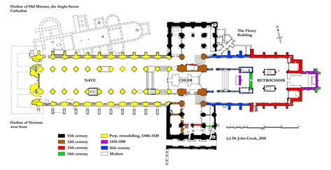 cathedral floor plan building the cathedral winchester cathedral winchester