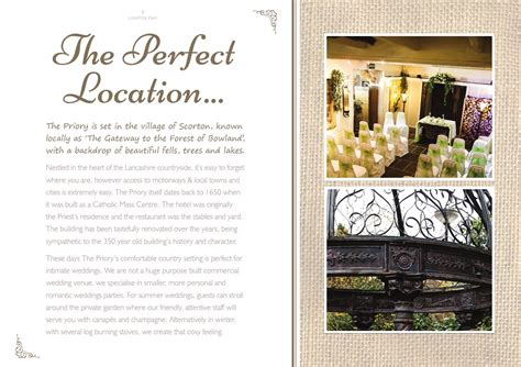 Wedding Brochure Lancashire by The Priory Scorton Wedding Brochure By The Priory Issuu