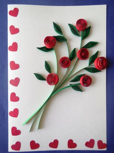 Images Of Handmade Greeting Cards - buy bouquet handmade greeting card doodlefy