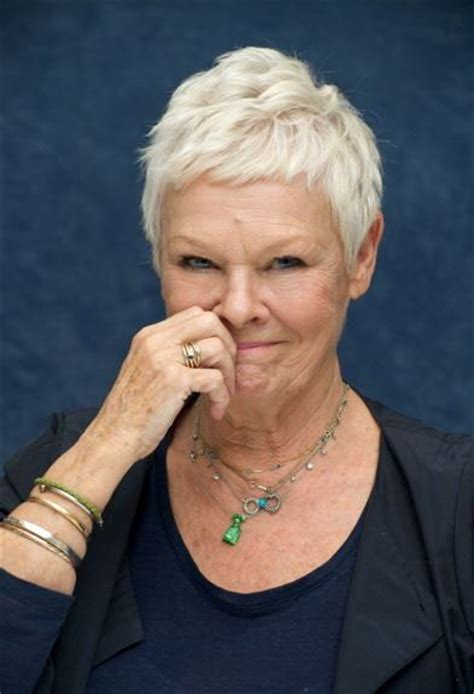 how to cut judi dench haircut 217 best images about dame judi dench on pinterest