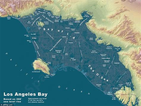 map world after glaciers melt maps show what major u s cities would look like if world