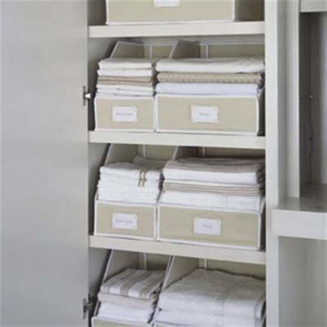 Linen Closet Storage linen closet storage 14 smart storage accessories this house