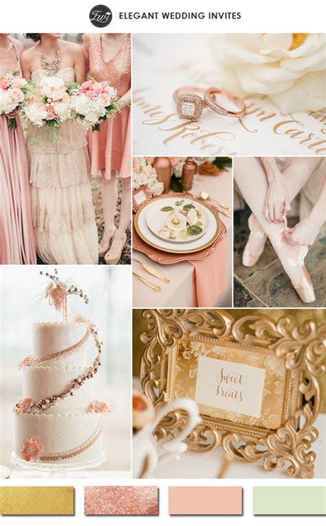 superior Sage Green Color Palette #2: rose-gold-and-blush-with-hint-of-sage-green-wedding-color-ideas-for-2015-trends1.jpg