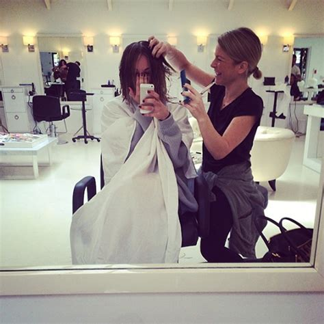 kaley cuoco chops her long locks in instagram pic upi com kaley cuoco chops off her long locks in favour of a bob