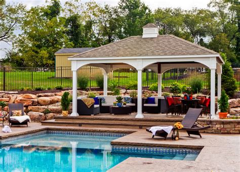 pool pavilion designs gazebos pergolas pavilions patio sets in dc md va