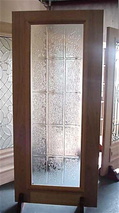 Obscure glass designer full glass doors