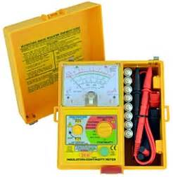 Sew 1832 In Analog Insulation Tester insulation tester