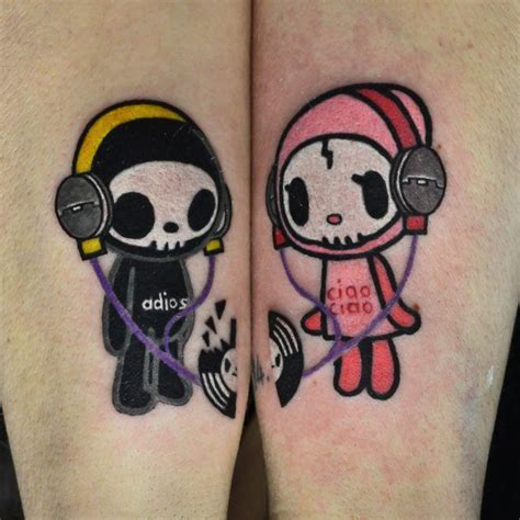 couples music tattoos 145 best tokidoki ink images on kawaii kawaii