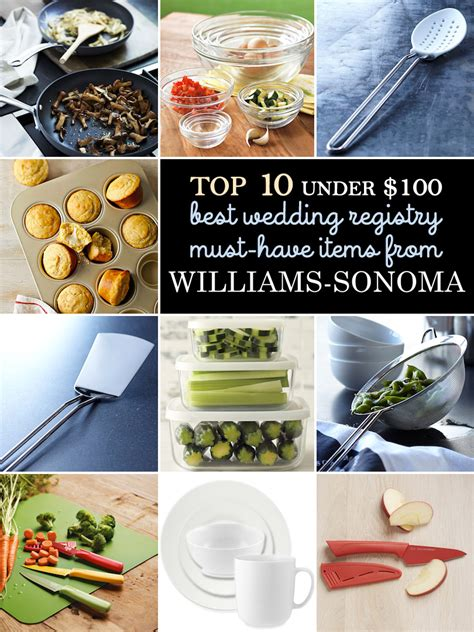 Williams Sonoma E Gift Card - my top 10 list of must have wedding registry gifts under 100 from williams sonoma