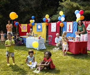 Easy Backyard Obstacle Course Carnival Party Host A Backyard Carnival Bash