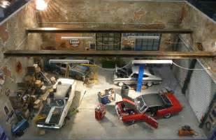 Diorama Garage Kits garage diorama revell cars 1 jpg 800 215 521 pixels models