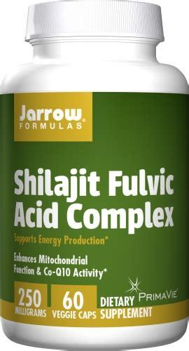 Fulvic Acid Detox Symptoms by Jarrow Formulas Shilajit Fulvic Acid Complex