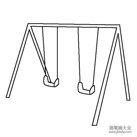 draw a swing playground swing drawing www imgkid com the image kid