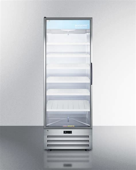 Buy Summit Acr1717lh Full Size Pharmaceutical All Summit Glass Door Refrigerator